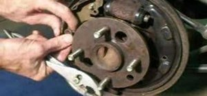 Tune up the rear brakes on a Saturn S-Series car