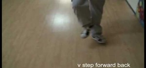 Crip Walk the V-step forward back