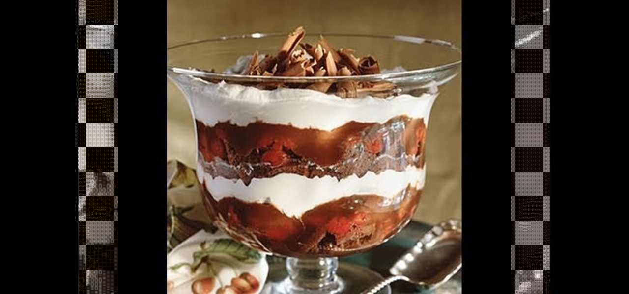 How To Make Black Forest Trifle 171 Dessert Recipes