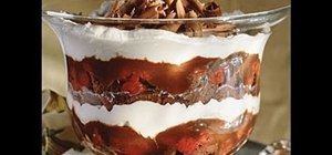 Make black forest trifle