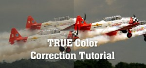 Color correct digital footage in Adobe After Effects and Photoshop