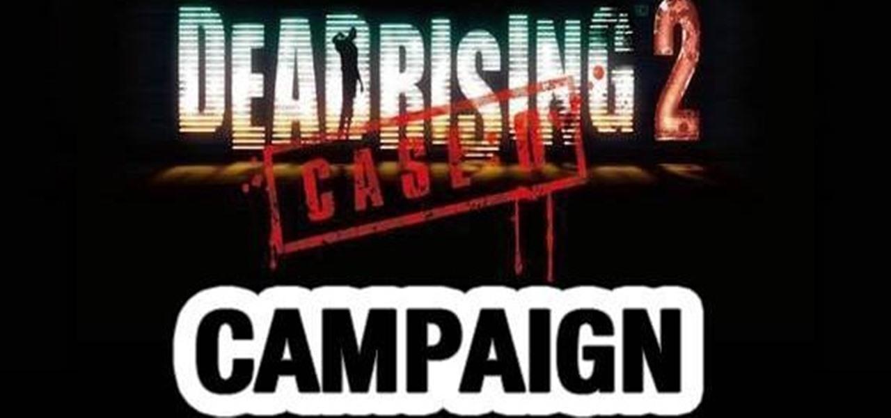 How To Walkthrough Dead Rising 2 Case Zero On The Xbox 360 Xbox