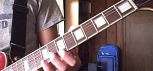 "Play Cash's ""Folsom Prison Blues"" on electric guitar"