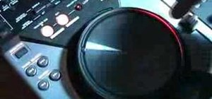 Use the features of the CDJ-400 mixer