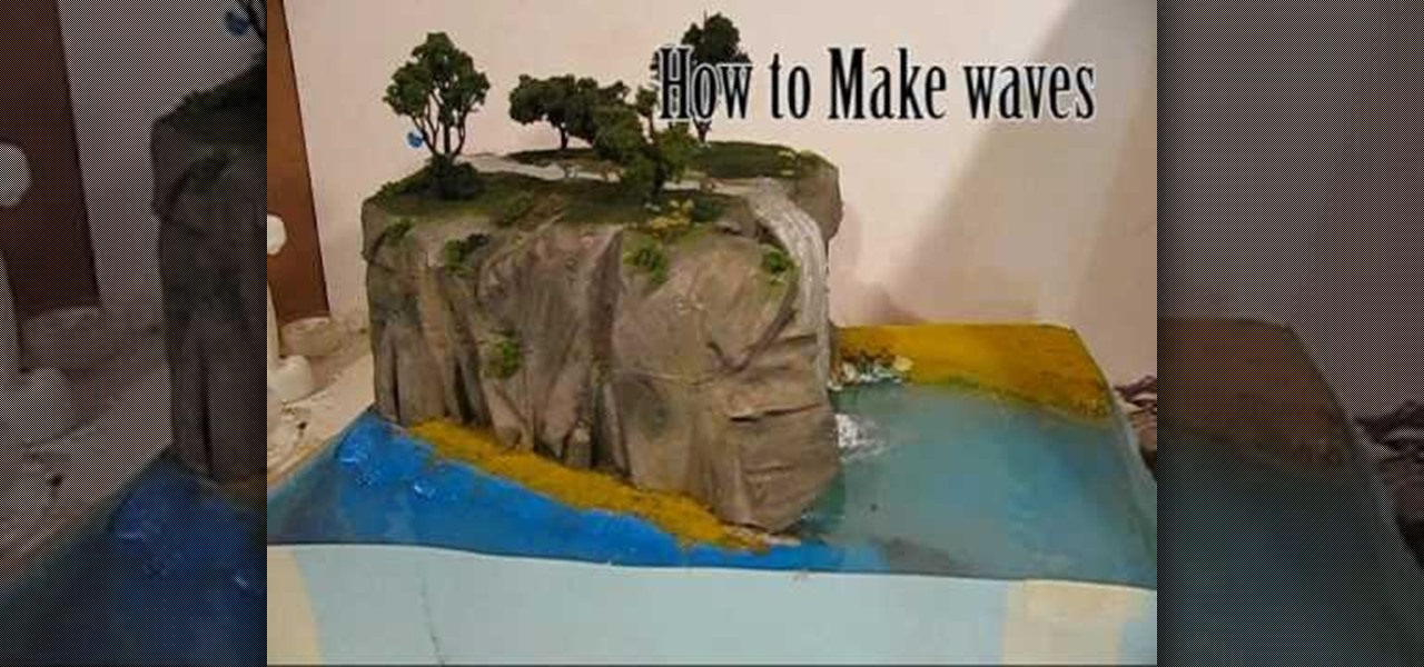 How To Make Water Effects For A Diorama Novelty Wonderhowto