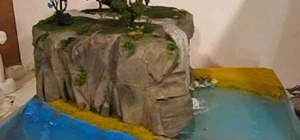 Make water effects for a diorama