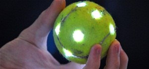 Make a Glowing Orb with a Tennis Ball & LEDs