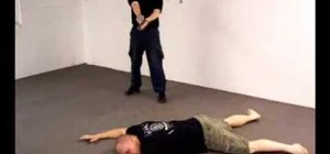 Disarm an armed attacker