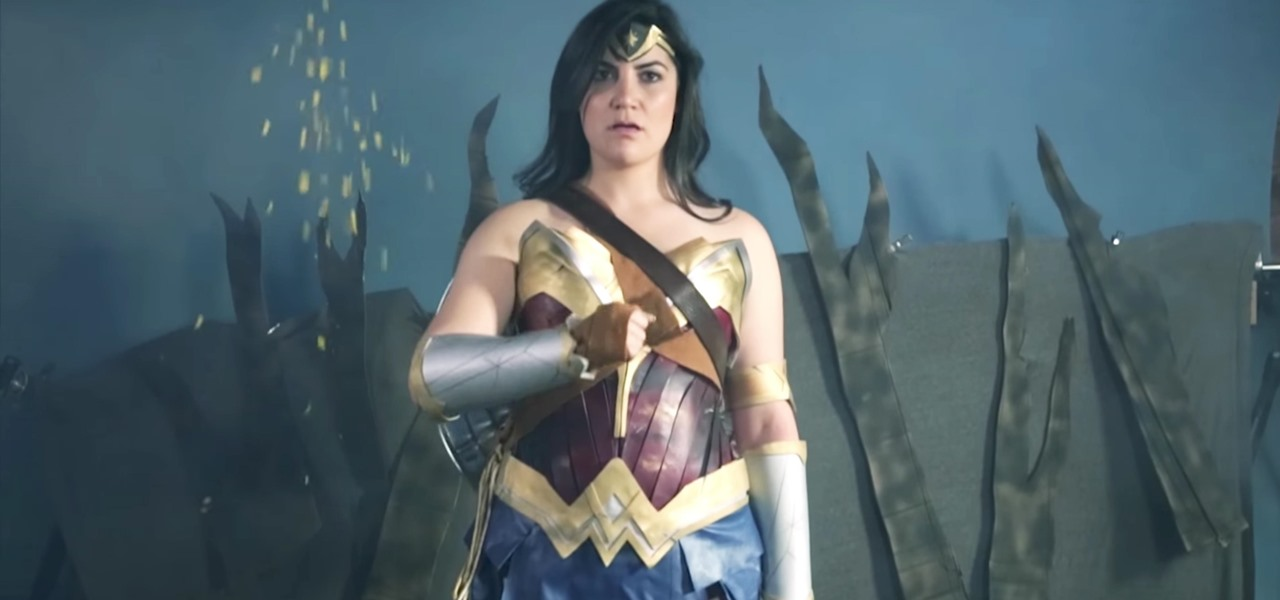 Build Wonder Woman's Armor for Halloween