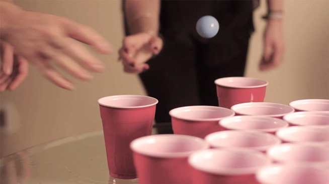 Erotic drinking games