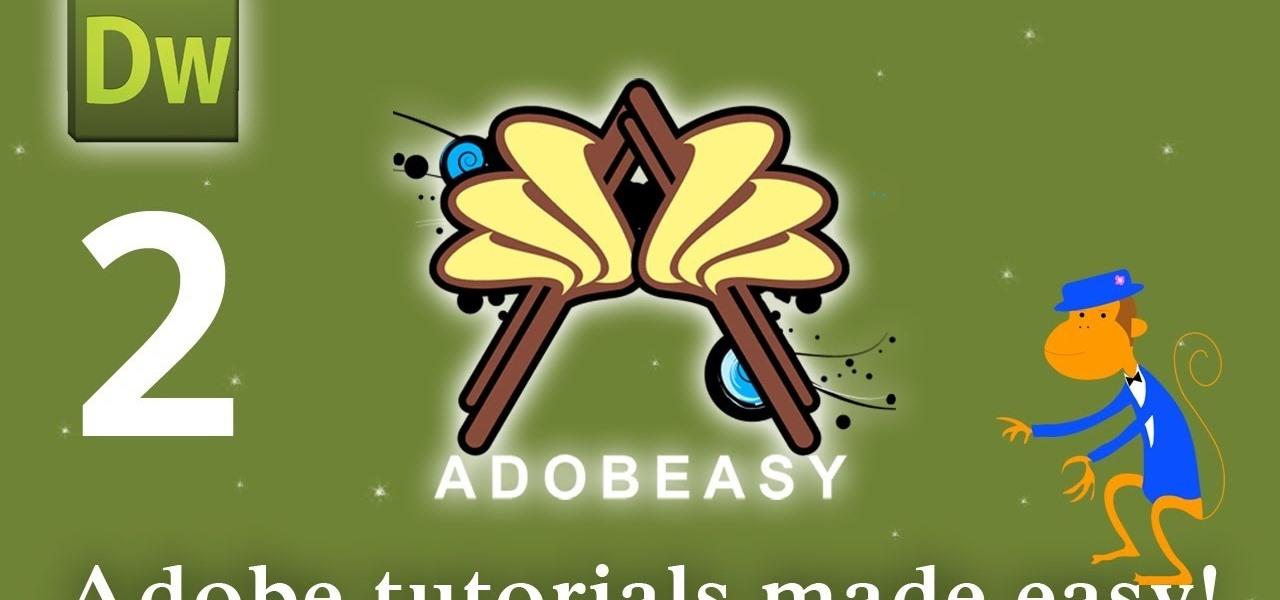 how to make a website using dreamweaver