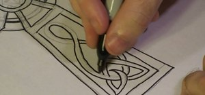 Draw a Celtic cross