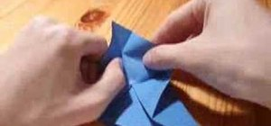 Origami a 3d star
