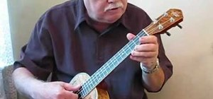 """Play the Beatles' """"A Hard Day's Night"""" on the ukulele"""