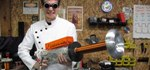 Portable DIY Tesla Coil Gun Shoots 20,000 Volts of Lightning!