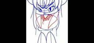 Draw a Chibi InuYasha