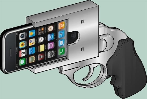 Careful. Don't Answer Your iPhone Gun Around Trigger Happy Cops