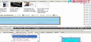 Use Firebug to debug CSS code on a webpage
