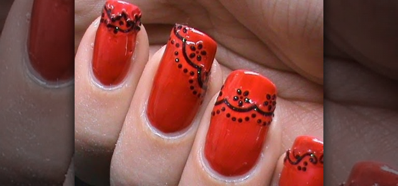 How To Do Lace Nail Art Designs Nails Manicure Wonderhowto
