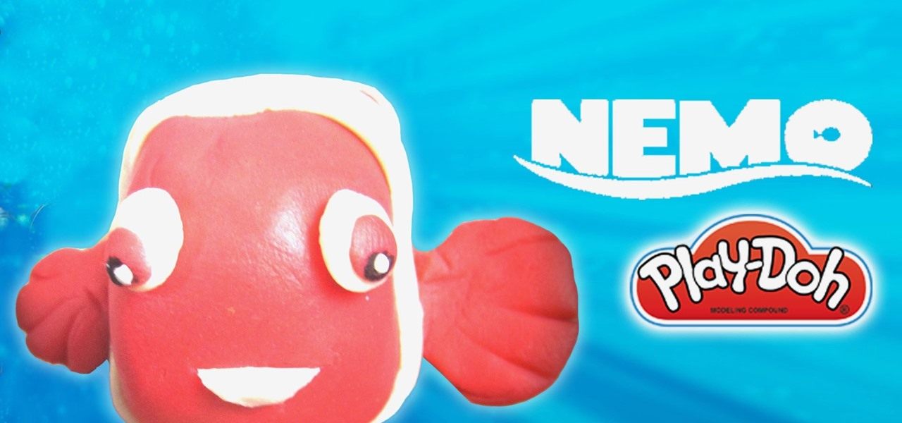 Make Disney Finding Nemo with Play Doh