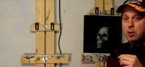Make an easy $20 DIY art easel