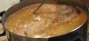 Make Ya-Hon soup