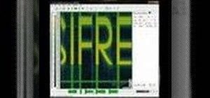 Hide a secret text in a .wav sound file
