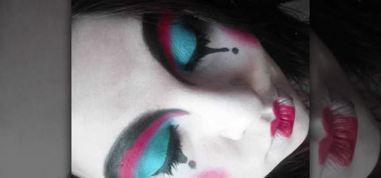 How To Apply Porcelin Theatre Clown Makeup 171 Makeup