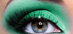 Make your green eyes pop