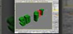 Edit letters individually in 3D text in 3ds Max