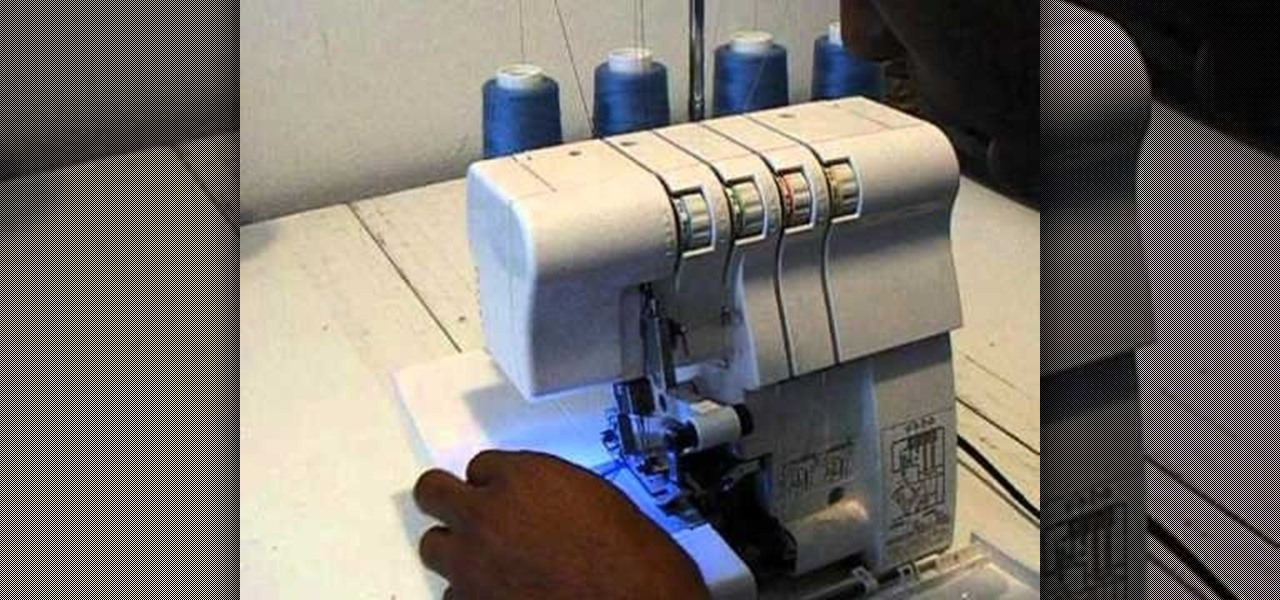 How To Change Thread Colors In A Singer Finishing Touch Serger Adorable Singer 14sh654 Finishing Touch Serger Sewing Machine