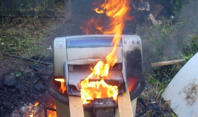 Hackers Can Remotely Set HP Printers on Fire: Is Yours Vulnerable?
