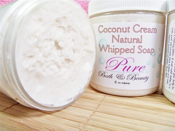 Made from scratch Whipped Soap