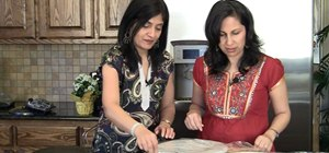 Make fresh Punjabi corn flour bread or Makki Ki Roti