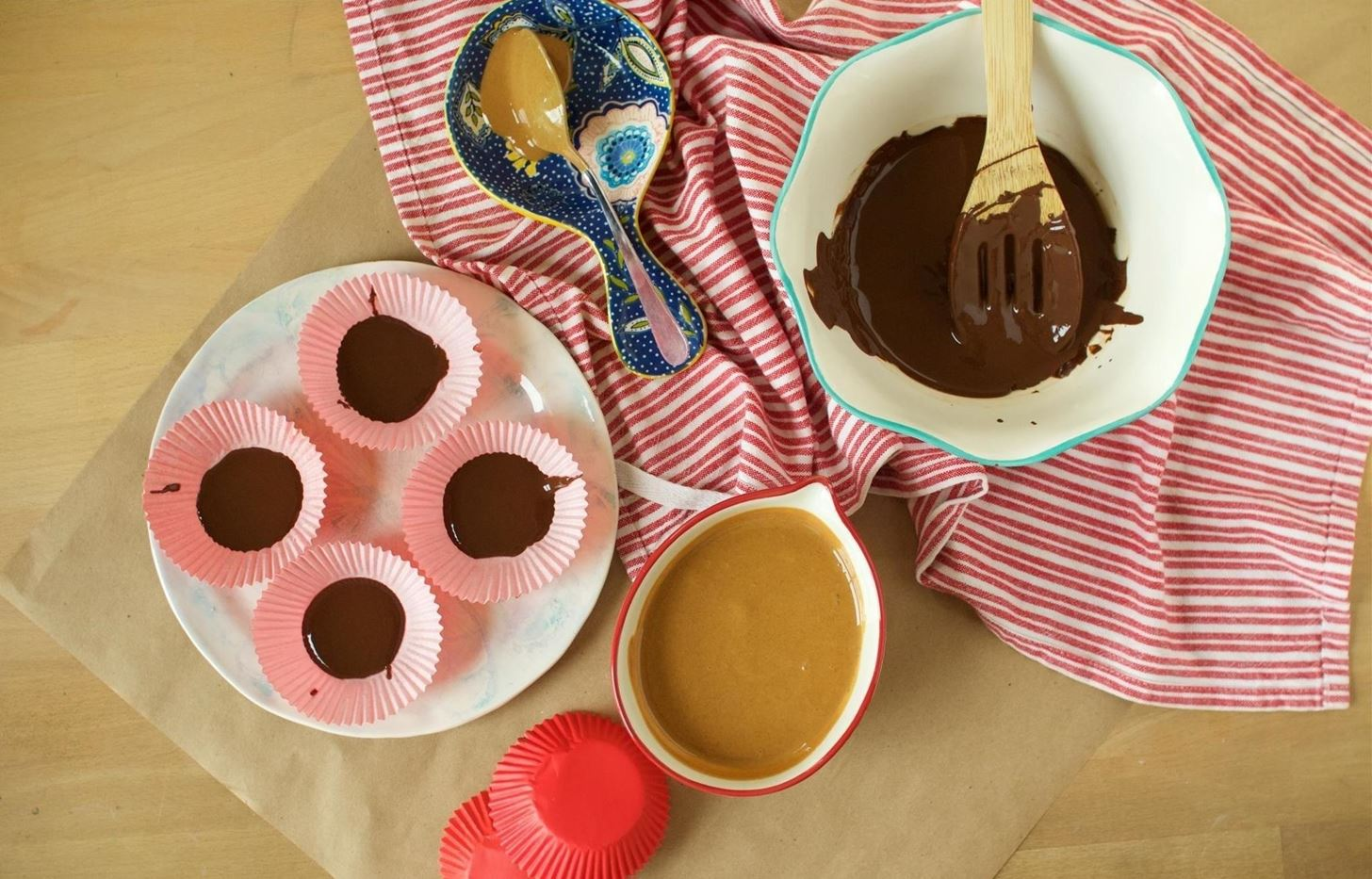 Making Reese's Peanut Butter Cups at Home Is Super Simple