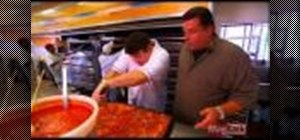 Make classic New York Italian style pizza