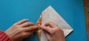 Origami projects with recycled paper
