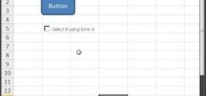 Assign a macro in Excel to a button, check box & more