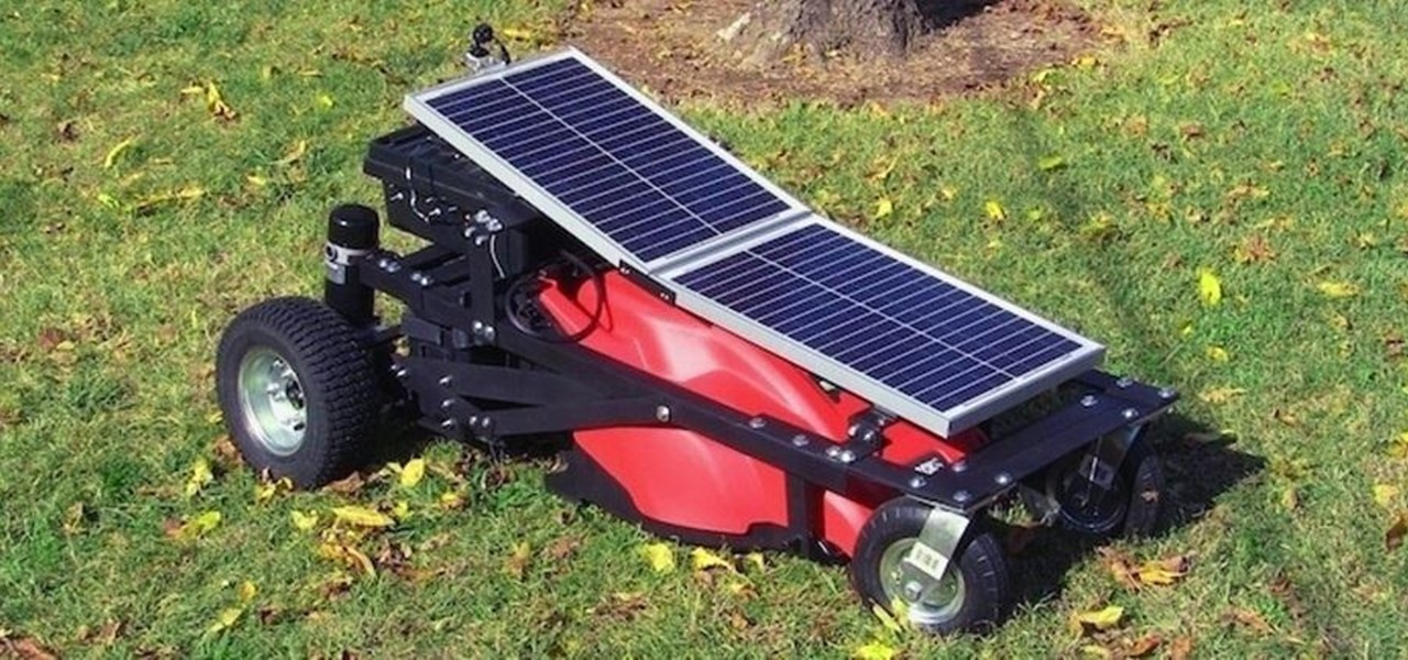 Diy Solar Powered Rc Lawn Mower Cut Your Grass Without