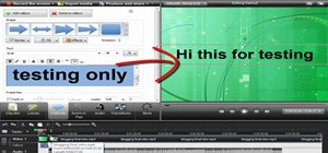 Add title clips from the Library feature in Camtasia 7