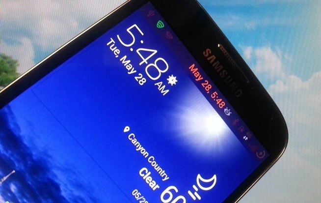 to Make the Stock Weather Widget Transparent on Your Samsung Galaxy S4