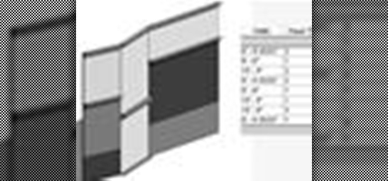How to schedule curtain panels in revit conditional for Curtain creator software
