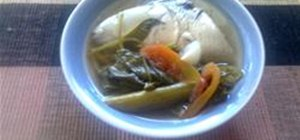 Cook a Simple Sinigang Na Bangus (Milkfish Stew)