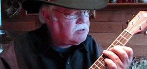 """Play """"Winter Wonderland"""" on the ukulele"""