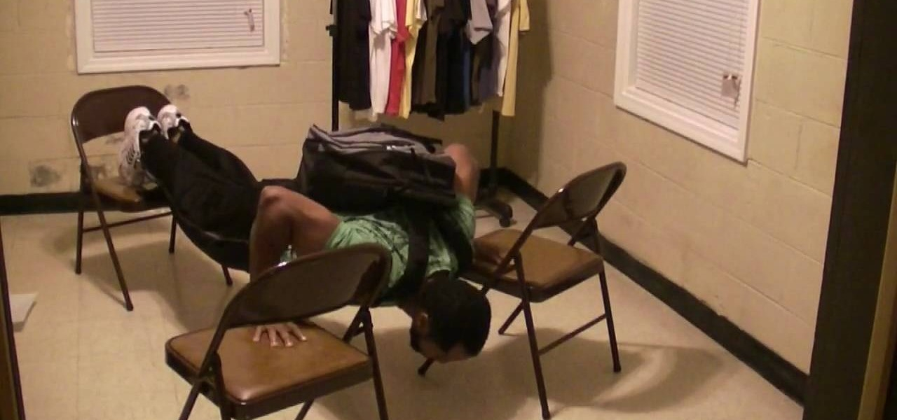 How To Build Chest Muscles Through Chair Push Ups Body