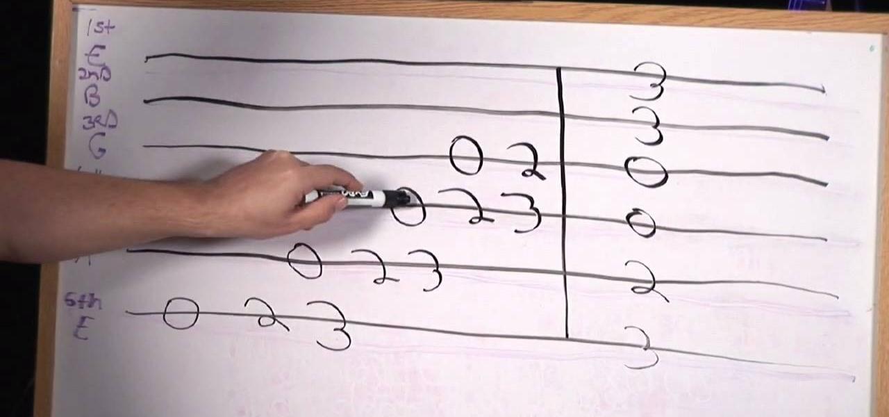 How to Understand guitar tabs « Electric Guitar :: WonderHowTo