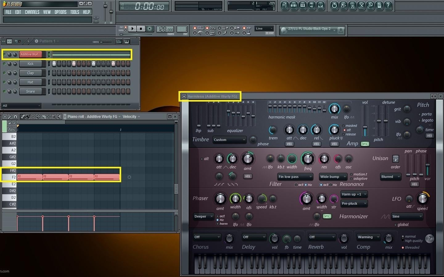 how to turn on sidechain peaks fl studio