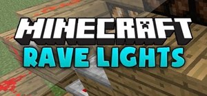 Make flashing strobe 'rave lights' in MineCraft