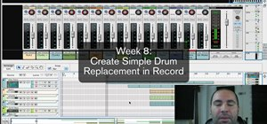 Do simple drum replacement in Reason/Record