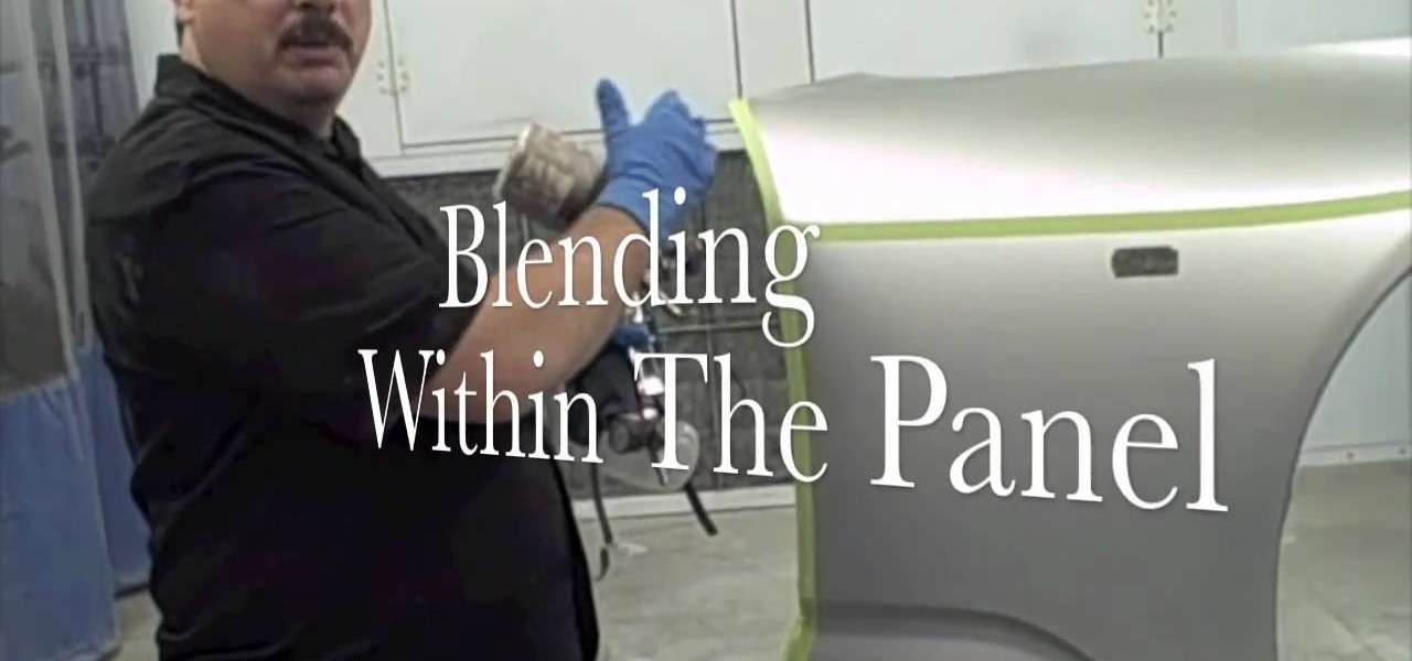 Blending New And Old Car Paint